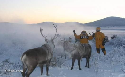 世界上最冷的地方 奥伊米亚康零下67度