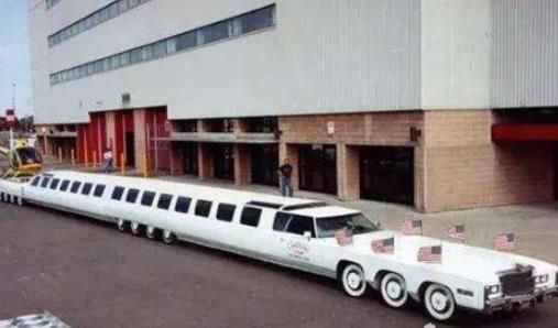 世界上最长的车 最长轿车有30米