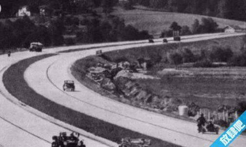 世界上第一条高速公路 希特勒领导建立了第一条高速路